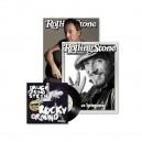"""REVISTA ROLLING STONE Nº 211 - MAYO 2012 - ALEMANIA - INCLUYE SINGLE 7"""" ROCKY GROUND Y SUPLEMENTO"""