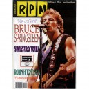 REVISTA R.P.M. - Nº 63 - MAYO 1992 - ESPAÑA - BRUCE PORTADA + 4 PAG. + POSTER