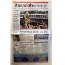 TIMES & TRANSCRIPT - 27 AGOSTO 2012 - CANADA - BRUCE PORTADA + 2 PAG.