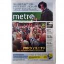 METRO - Nº 136 - 1 AGOSTO 2012 - FINLANDIA - BRUCE PORTADA + 1 PAG.