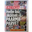DIARIO ILTALEHTI - 1 AGOSTO 2012 - FINLANDIA - BRUCE PORTADA + 2 PAG.