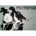 POSTER BRUCE SPRINGSTEEN & CLARENCE CLEMONS - BORN TO RUN