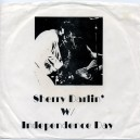 """SHERRY DARLIN' W/ INDEPENDENCE DAY (LIVES) - 7"""" PS COLECCIONISTA"""