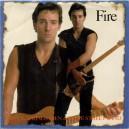 "FIRE (CON INTRO) / FIRE (SIN INTRO) (LIVES) - 7"" PS USA PROMOCIONAL 1987"