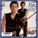 """FIRE / FOR YOU (LIVES) - 7"""" PS JAPON 1987"""
