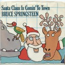 "SANTA CLAUS IS COMIN' TO TOWN (LIVE) / SANTA CLAUS IS COMIN' TO TOWN (LIVE) - 7"" PS USA PROMOCIONAL 1981"