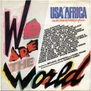 "WE ARE THE WORLD / GRACE - 7"" PS ESPAÑA 1985"