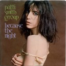 """BECAUSE THE NIGHT / GOD SPEED - PATTI SMITH GROUP - 7"""" PS US 1978"""
