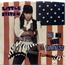 """OUT OF THE DARKNESS / FEAR - LITTLE STEVEN - 7"""" PS USA 1984"""