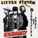 "SOLIDARITY / UNDER THE GUN (Live Version) - LITTLE STEVEN & THE DISCIPLES OF SOUL - 7"" PS UK 1983"