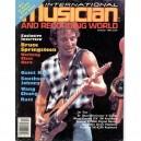 REVISTA MUSICIAN INTERNATIONAL AND RECORDING WORLD - OCTUBRE 1984 - USA - BRUCE PORTADA + 8 PAG. - VG+