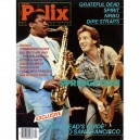 REVISTA DEAD RELIX - MUSIC FOR THE MIND - AGOSTO 1984 - USA - BRUCE Y CLARENCE PORTADA  + 4 PAG. - SEMI-NUEVA