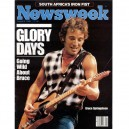 REVISTA NEWSWEEK - 5 AGOSTO 1985 - USA - BRUCE PORTADA + 4 PAG. - VG++