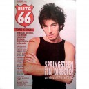REVISTA RUTA 66 - Nº 13 - DICIEMBRE 1986 - ESPAÑA - BRUCE PORTADA + 1 PAG.