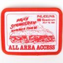 PARCHE PHILADELPHIA 15 JULIO 1981 - THE RIVER TOUR 2016