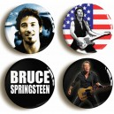 50% Oferta - PACK 4 CHAPAS SPRINGSTEEN