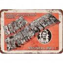 30% Oferta - PLACA METAL VINTAGE BRUCE SPRINGSTEEN EN ARMADILLO 1974