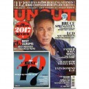 REVISTA UNCUT - THE ULTIMATE 2017 REVIEW - GENER 2018  - REINO UNIDO - BRUCE EN PORTADA + 7 PAG + CD