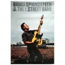 POSTER BRUCE SPRINGSTEEN & THE E STREET BAND - IMPRESO 2 CARAS - TAMAÑO 67,50 x 49,50