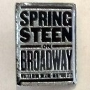 PIN METALICO OFICIAL SPRINGSTEEN ON BROADWAY