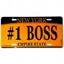 MATRICULA BOSS - NEW YORK EMPIRE STATE