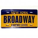 MAGNET IMAN BROADWAY - NEW YORK EMPIRE STATE RIGIDO