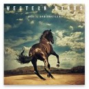 MAGNET IMAN OFICIAL WESTERN STARS - GIGANTE 10 x 10 cm