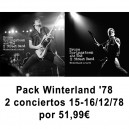 PACK WINTERLAND '78 - 2 CONCIERTOS 15-16 DICIEMBRE 1978 - 6CD - OFICIAL SONIDO DEFINITIVO