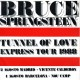 """TUNNEL OF LOVE EXPRESS TOUR 1988 - TOUGHER THAN THE REST / BORN IN THE U.S.A. - 7"""" PS ESPAÑA 1988 PROMOCIONAL LABEL AMARILLO"""