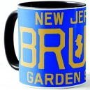 50% Oferta - TAZA NEW JERSEY BRUCE GARDEN STATE - NEGRA
