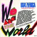 "WE ARE THE WORLD / GRACE - 7"" PS HOLANDA-EUROPA 1985"