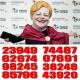 GROSSA CAP D'ANY 2021 - N° 23949, 43920, 07691, 62674, 98245, 85796, 74487, 38248
